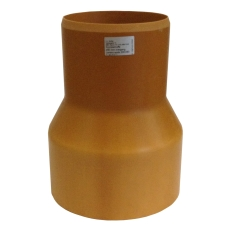 HL 200/283 mm krympemuffe med gummiring til 20 cm betonspids