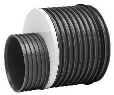 Uponor Double/Rib2/IQ 560 x 450 mm PP-reduktion med gummirin