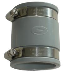 Fernco 102-112 mm kobling, grå, over jord