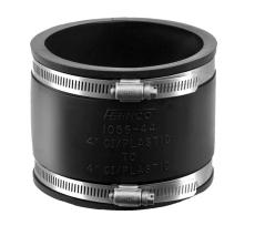 Fernco 165-176 mm kobling 12,5 cm ler t/støbejern DN150, i j