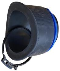Alnino-connect 110/138 mm påboringssæt til plast, glat spids