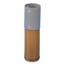 Wavin 200 x 500 mm PVC-forlænger med muffe til tagnedløbsbrø