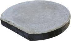 IBF 315 mm dæksel til kegle, tagbrønd, beton