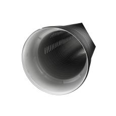 IQ 338/296 x 6000 mm PP SN8 topslidset rør med muffe u/gummi
