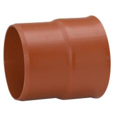 Uponor IQ DN200 x 200 mm PP-overgang t/glat muffe, u/gummiri