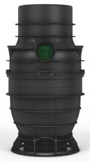 Wavin 315 x 110 mm PP-sandfangsbrønd PLUS med vandlås, 45 l