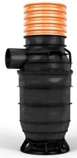 Wavin 315 x 160 mm PP-sandfangsbrønd PLUS med vandlås, 70 l