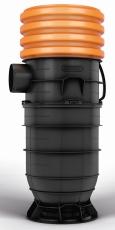 Wavin 425 x 160 mm PP-sandfangsbrønd PLUS med vandlås, 70 l
