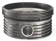 Wavin Tegra 1000 x 604 mm TP1-brøndbund til ACO højvandslukk