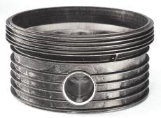 Wavin Tegra 1000 x 604 mm TP2-brøndbund til ACO højvandslukk
