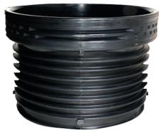 Wavin 1000 x 807 mm PP-sandfangsbund m/gummiring t/opførings