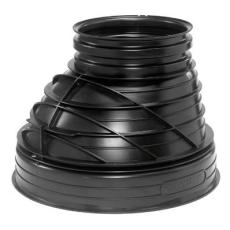 Wavin 1000/600 x 846 mm brøndkegle opføringsrør, uden gummir