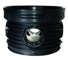 Wavin Tegra 250 x 1000 mm TP2-brønd, letvægt, 2 x 90 gr. til