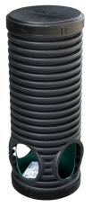 Sirobau S300 354/300 x 900 mm PE-brønd m/bund/låg, uden sand