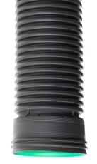 Sirobau S300 354/300 x 630 mm PE-forlængerrør med muffe