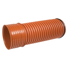 Kaczmarek K2 225/200 x 6000 mm PP-rør med muffe/gummiring, S