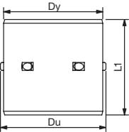 Wavin 315 mm indvendig dobbeltmuffe, med gummiringe