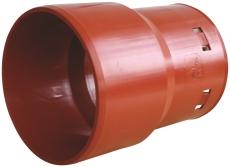 Wavin 110 mm PVC-dræntilslutning til 75/65 mm drænrør, spids