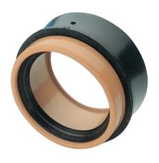 Wavin 110/127 mm In Situ PVC til plast, 2-delt