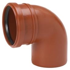 Uponor 110 mm 88 gr. PP-kloakbøjning