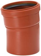 Uponor 160 mm 7,5 gr. PP-kloakbøjning