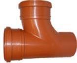 Uponor 110 x 110 mm 88 gr. PP-kloakgrenrør