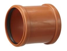Kaczmarek 250 mm PP-kloakdobbeltmuffe