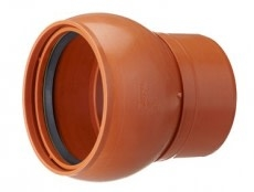 Kaczmarek 200 mm PP-overgang med drejeled 0 - 7,5 gr.