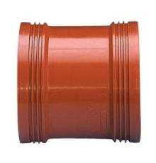 Wavin 110 mm PP-kloakskydemuffe