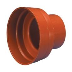 Wavin 110 mm PP-overgang til betonspids, uden gummiring