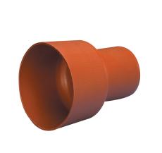 Wavin 110 mm PP-overgang til betonspids, uden gummiring, lan