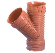 Wavin Rib/Rib2 315 x 200 mm 45 gr. PP-grenrør, uden gummirin