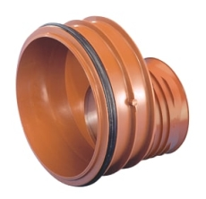 Wavin Rib/Rib2 315 x 250 mm PP-reduktion med gummiring