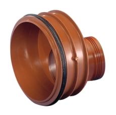 Wavin Rib/Rib2 200 x 110 mm PP-reduktion med gummiring
