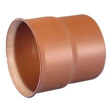 Wavin Rib/Rib2 315 mm PP-overgang t/glat muffe, uden gummiri