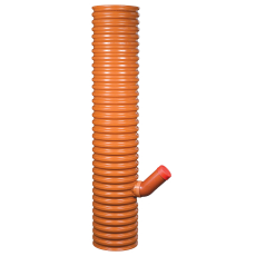 Wavin 315 x 160 mm PP-sandfangsbrønd med vandlås, 35 l