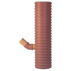 Uponor 425 x 110 mm PP-sandfangsbrønd med vandlås, 70 l