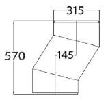 Uponor 315 mm brøndforsætning uden gummiringe