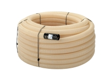Uponor 160/145 mm PVC-drænrør med 1,2 x 6,5 mm slids, 50 m,