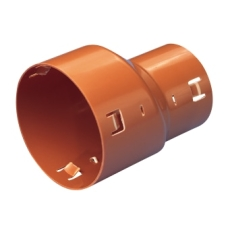 Wavin 75 x 60 mm PVC-drænreduktion