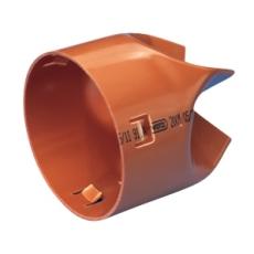 Wavin 126/113 mm PVC-drænslutmuffe