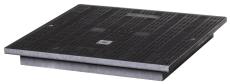 Uni-Seals 900 x 900 mm dæksel, 1,5 t, komposit, kabelbrønd
