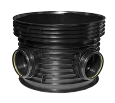 Wavin Tegra EUR 160 x 1000 mm TP3-brønd, glat, 45 gr. v. til