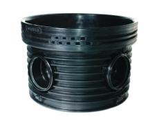 Wavin Tegra EUR 160 x 1000 mm TP4-brønd, glat, 90 gr. h. til