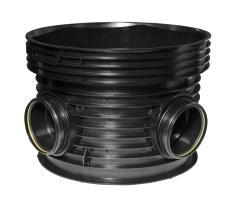 Wavin Tegra EUR 315 x 1000 mm TP3-brønd, glat, 45 gr. v. til