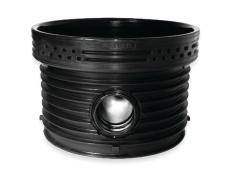 Wavin Tegra EUR 250 x 1000 mm TP1-brønd, glat, lige gennemlø