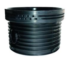 Wavin Tegra EUR 250 x 1000 mm TP1-brønd, glat, 30 gr. gennem
