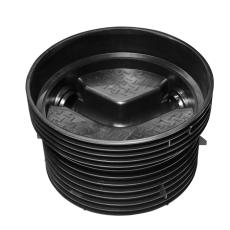 Wavin Tegra EUR 250 x 1000 mm TP1-brønd, glat, 60 gr. gennem