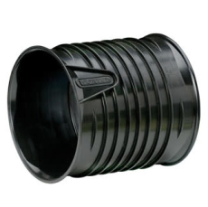 X-Stream DN800 PP-dobbeltmuffe, uden gummiringe