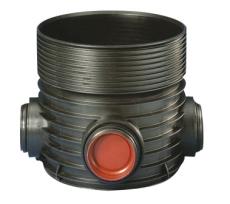 Wavin Tegra 200 x 600 mm TP2-brønd, X-Stream, 2 x 90 gr. til